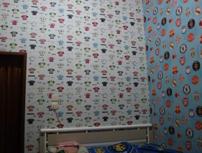 Dekorasi-On-Budget-dari-Wallpaper-Dinding
