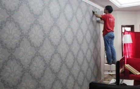 Jasa Pasang Wallpaper Di Stabat 082365152925 Rumah Wallpaper